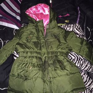 Little girls winter jacket